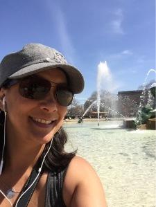 Me at Logan Square in Philadelphia