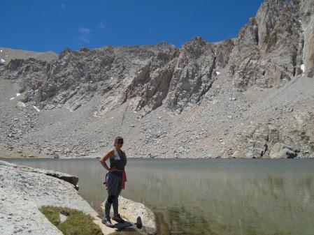 Me at Meysan Lake, 11, 445 feet.