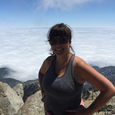Cucamonga Peak, 8858 feet.