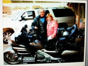 Jack & Patsy motorcycle